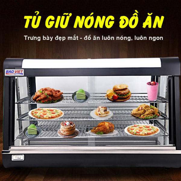 Tủ giữ nóng thức ăn Bảo Việt