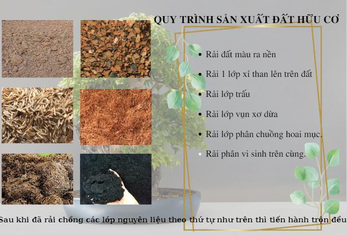 Quy trình sản xuất đất hữu cơ