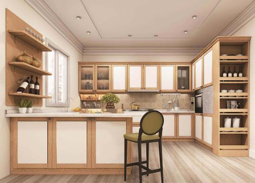Tủ bếp phong cách Hàn Quốc