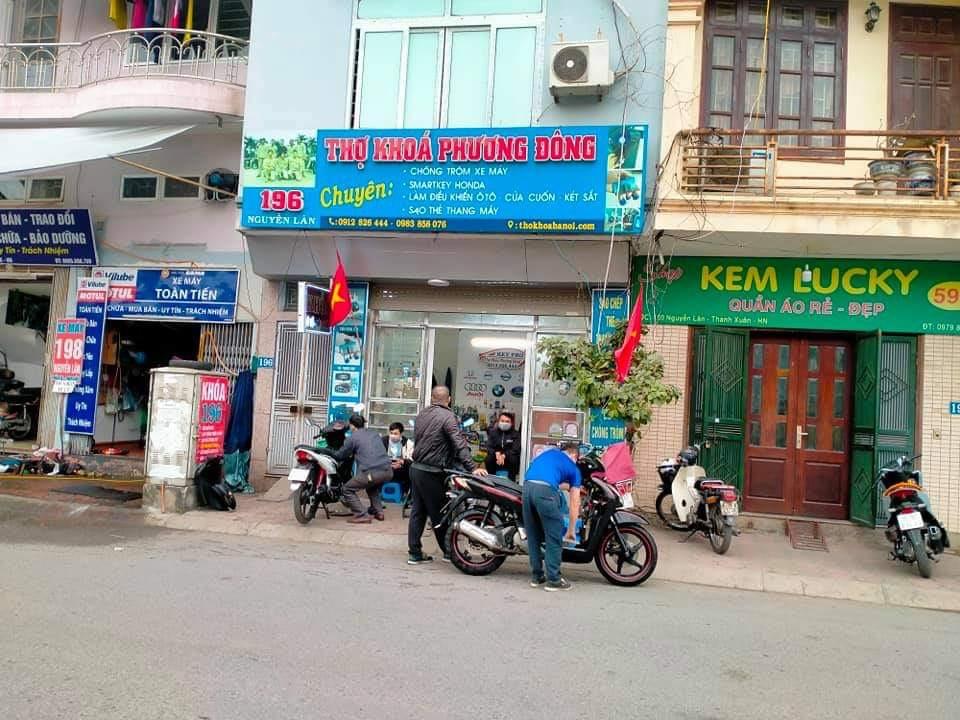 Tám thợ khoá - Địa chỉ cung cấp khoá chống trộm xe máy Hyper uy tín, giá rẻ tại Hà Nội